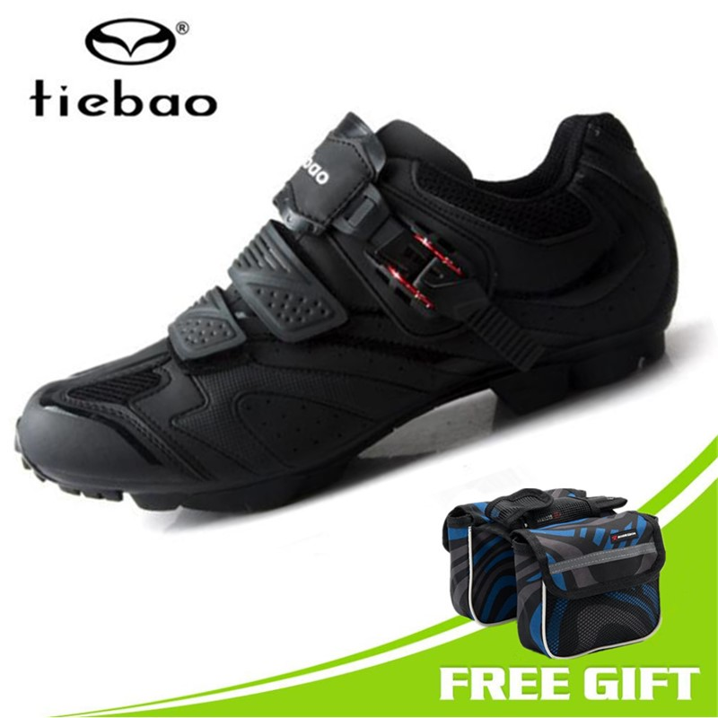 Tiebao Cycling Shoes men Breathable Professional Self-Locking MTB Bicycle Shoes Non-Slip Bike Racing Shoes Sapatos de ciclismo racmmer cycling gloves guantes ciclismo non slip breathable mens