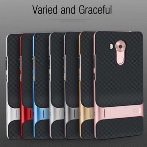 Image 2 - Brand New 3D Kickstand Housing for Huawei Mate 8 Case Cover Silicone 6.0 TPU+PC 360 Protective Fundas Carcasas HuaweiMate8 Mate8
