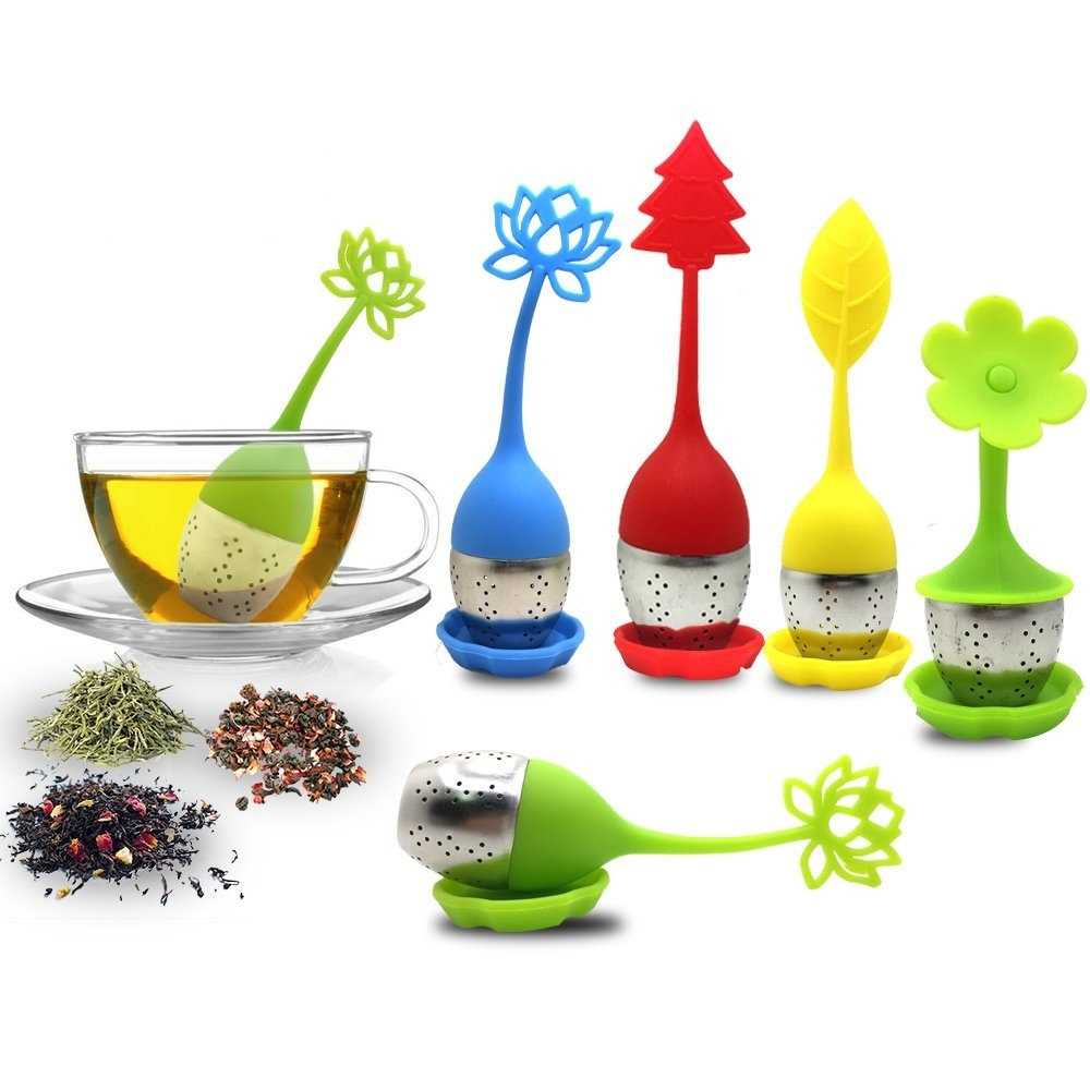 Silicone Monkey Tea Infuser Maker Strainer Kitchen Filtering tool Drinking
