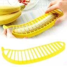 1Pc Banana Slicer Cutter Kitchen Shredder Slicers Chopper Cutter Fruit Cutter Tool Make Salad Divider Cut  Ham Slicer