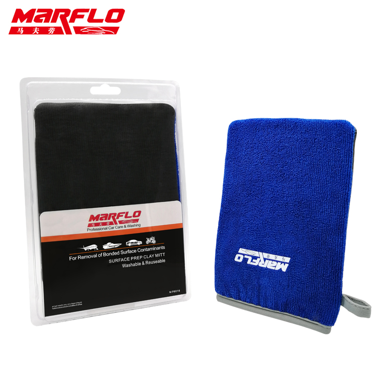 Car Wash Magic Clay Bar Mitt Car Clay Cloth Auto Care Cleaning Towel Microfiber Sponge Pad Clay Cloth Detailing Brilliatech