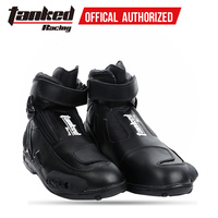 TANKED off road boots racing motorcycle boots non slip waterproof men's four seasons short pull boots motorcycle boots