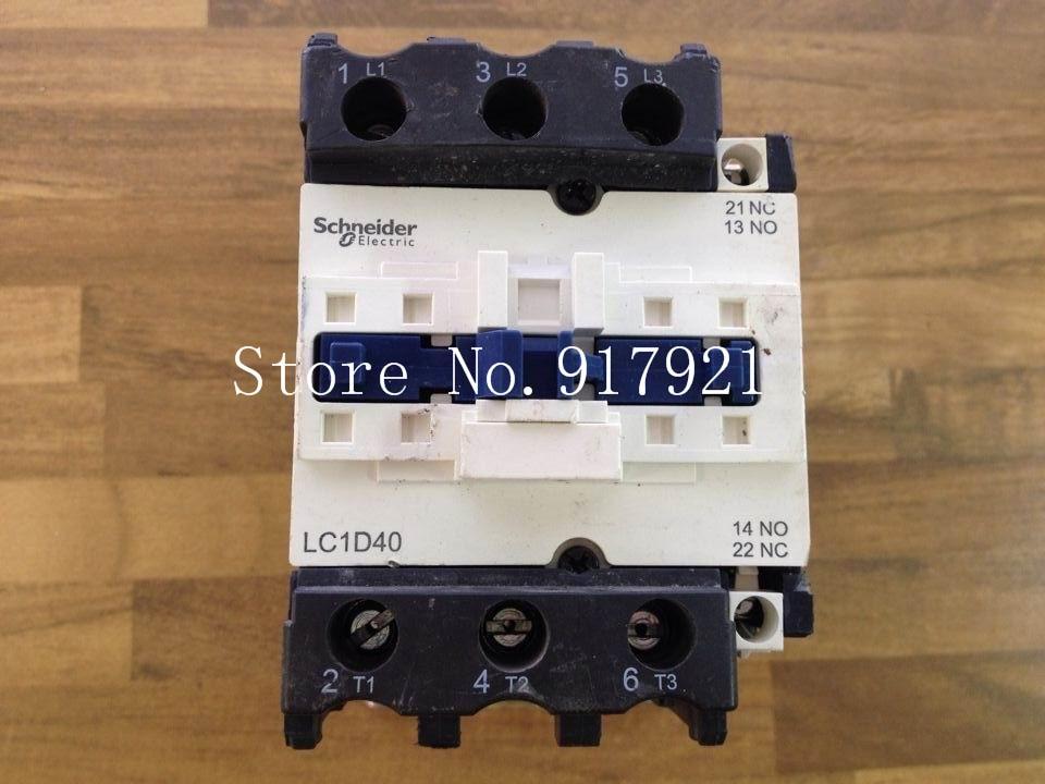 [ZOB] original original of France LC1D40 220V 60A genuine original AC contactor  --2pcs/lot new lp2k series contactor lp2k06015 lp2k06015md lp2 k06015md 220v dc