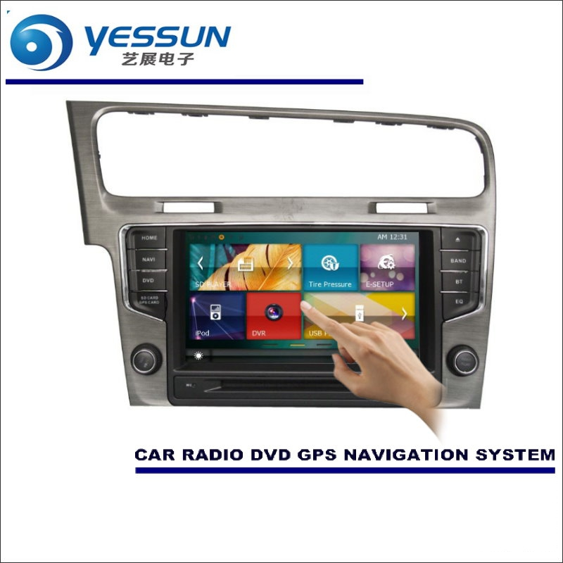 YESSUN For Volkswagen VW Golf Mk7 2012~2015 Car Radio CD DVD Player Multimedia HD TV Screen GPS Navigation Audio Video System