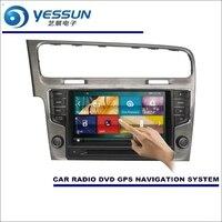YESSUN For Volkswagen VW Golf Mk7 2012~2015 Car Radio CD DVD Player Multimedia HD TV Screen GPS Navigation Audio Video System