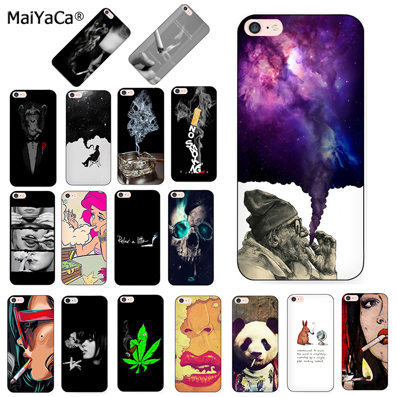 Fitted Cases Cover Abstractionism Art High Weed Design For Iphone Xs Max Xr X 4 4s 5 5s 5c Se 6 6s 7 8 Plus Samsung Galaxy J1 J3 J5 J7 A3 A5 To Suit The PeopleS Convenience
