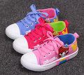 Big girls canvas shoes sneakers crianças shoes chaussure nina sapatos da moda kids shoes 2017 meninas lace up shoes rosa azul