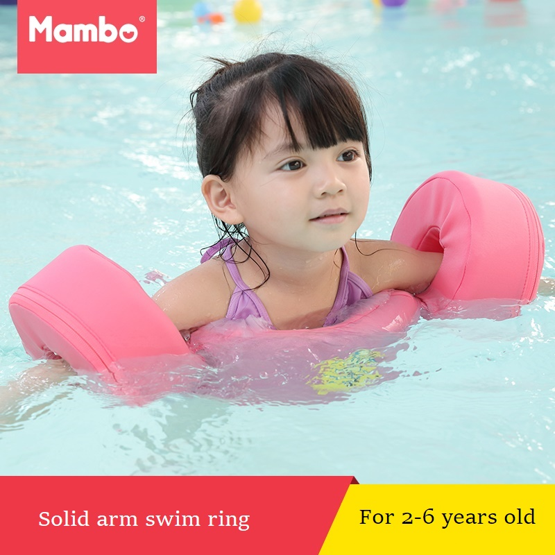 Foam Pool Float Swimming Discs Buoy Arm Bands Floating Sleeves Free Inflatable Board Swimming Exercises Circles