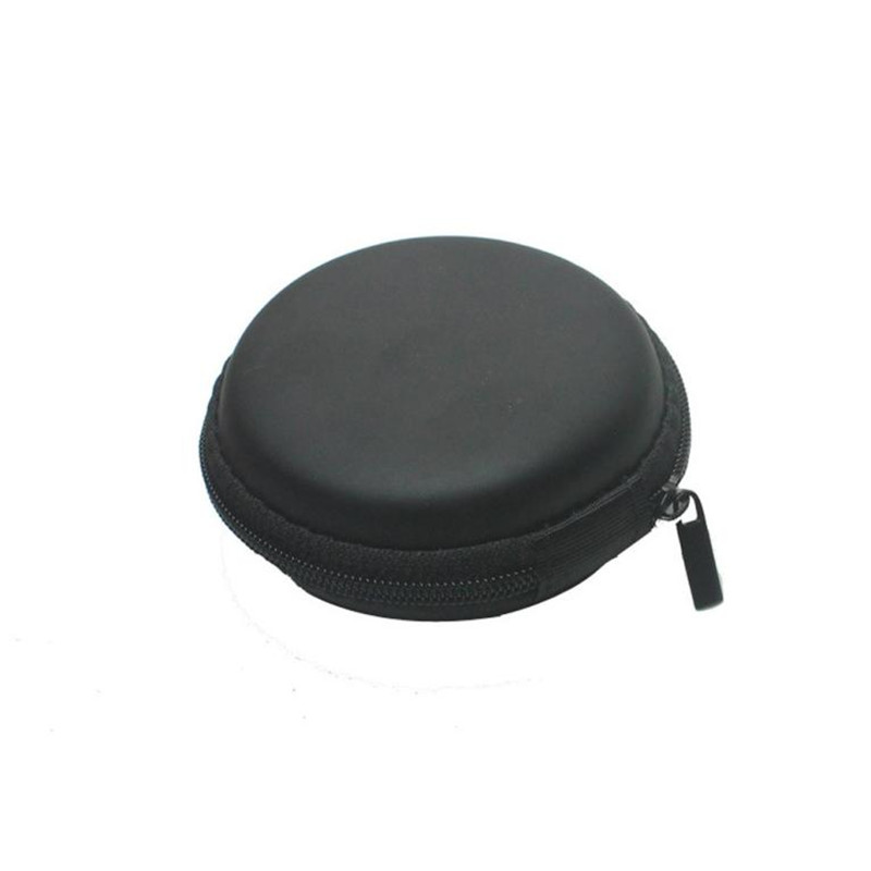 Colourful Portable Mini Round Hard Storage Case Bag for Cards Cion Purse monederos mujer monedas male female Zipper Pocket ouhaobin blue portable headphone bag long round hard storage case bag for earphones headphones sd tf cards optional sep14