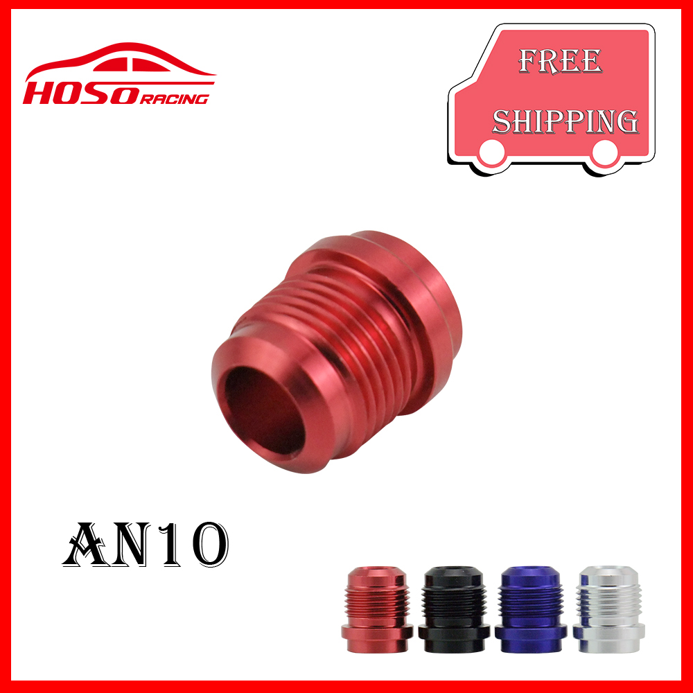 (AN10 -10 JIC AN 10) Male Aluminium Weld On Fitting Round Base