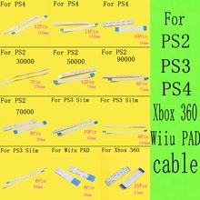 1 STKS Flex Kabel Voor PS2 voor PS4/PS3 slim Wiiu pad 30000 50000 77000 79000 90000 7000x75000 77000 Power Reset Ribbo(China)