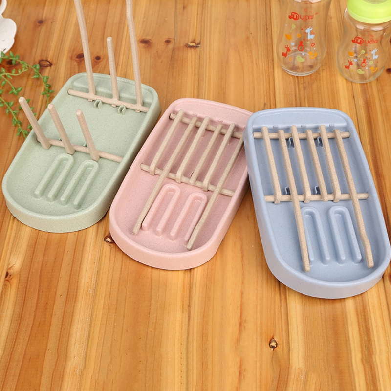 Foldable Baby Infant Feeding Bottle Cup Rack Drying Storage Drainer Stand Holder
