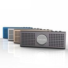 New Mini Ultra Slim Super Bass Bluetooth 4.0 Wireless Stereo Pocket Speaker Audio Support Handsfree TF Card AUX-in