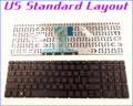 "New US Layout Keyboard for HP Pavilion 15-AC 15-AF 250 G4 255 G4 256 G4 F8Z12PA#ABG SN7145 15.6"" Laptop/Notebook No Frame"