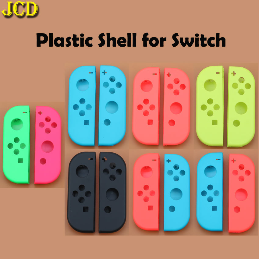 Image 2 - JCD Hard Plastic R L Housing Shell Case Cover for Switch NS NX Joy Con Controller for Joy Con Battery Bracket Handle Inner Frame-in Cases from Consumer Electronics