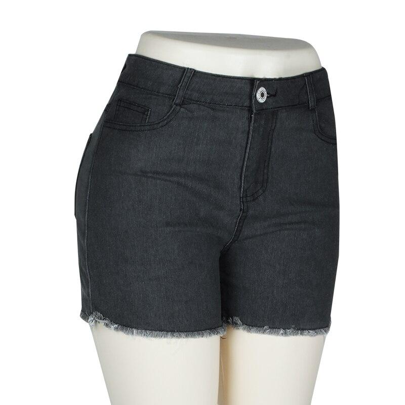 Fashion Women Push Up Skinny Slim Denim Shorts 41