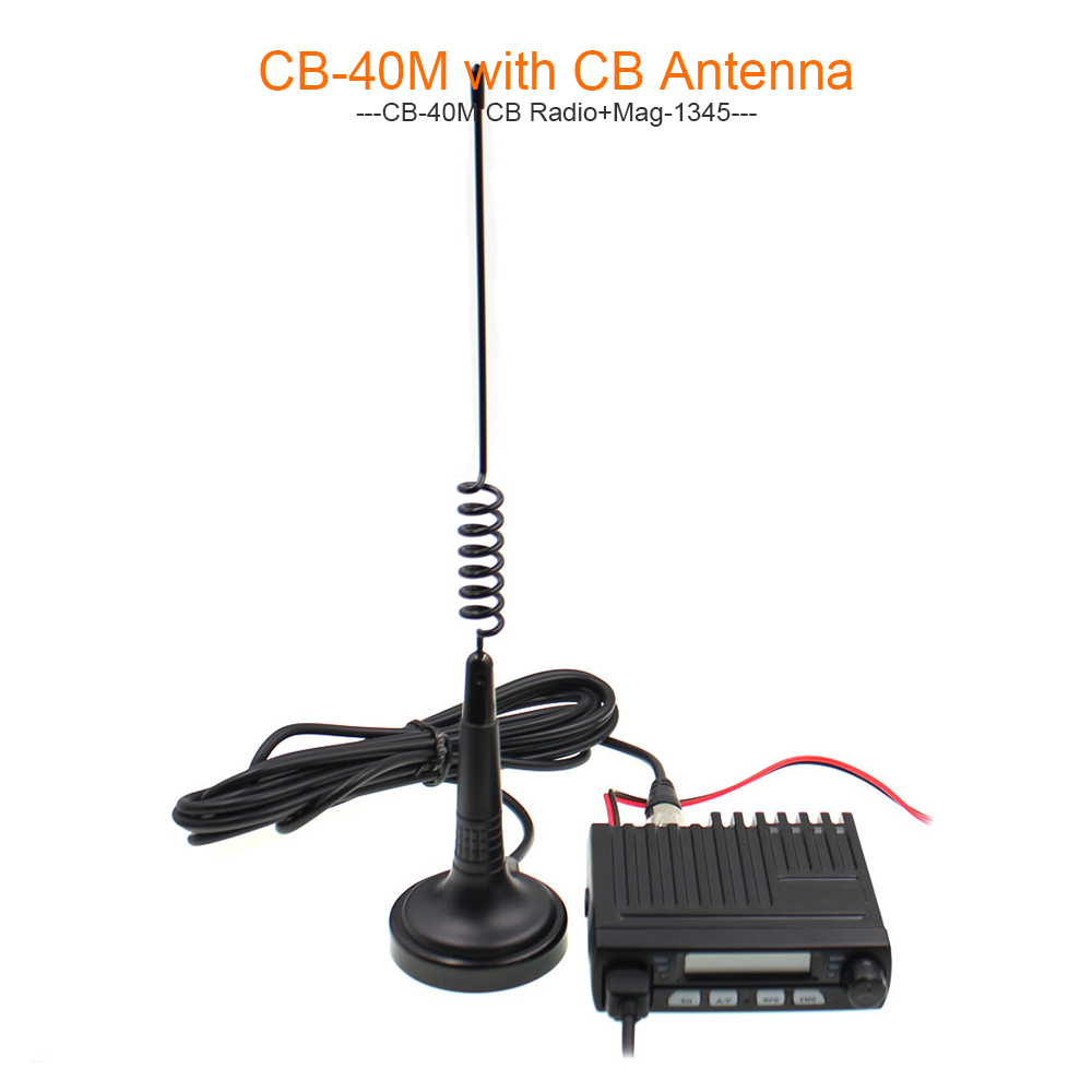 Citizen Band Multi-Norms CM-40M AR-925 CB Mobile Radio 25.615--30.105Mhz AM/FM 13.2V 8Watts LCD Screen  Amateur Radio Stations