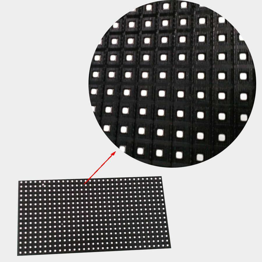 2016 polychrome extérieur rvb 32x16 P10 a mené le module d'affichage 32*16 pixel 1/4 balayez les signes de panneau de affichage vidéo led de P10 SMD