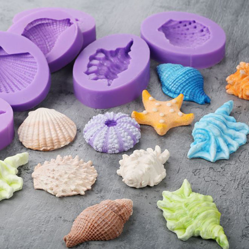 Tiny Sea Star silicone mold fondant cake decorating APPROVED FOR FOOD