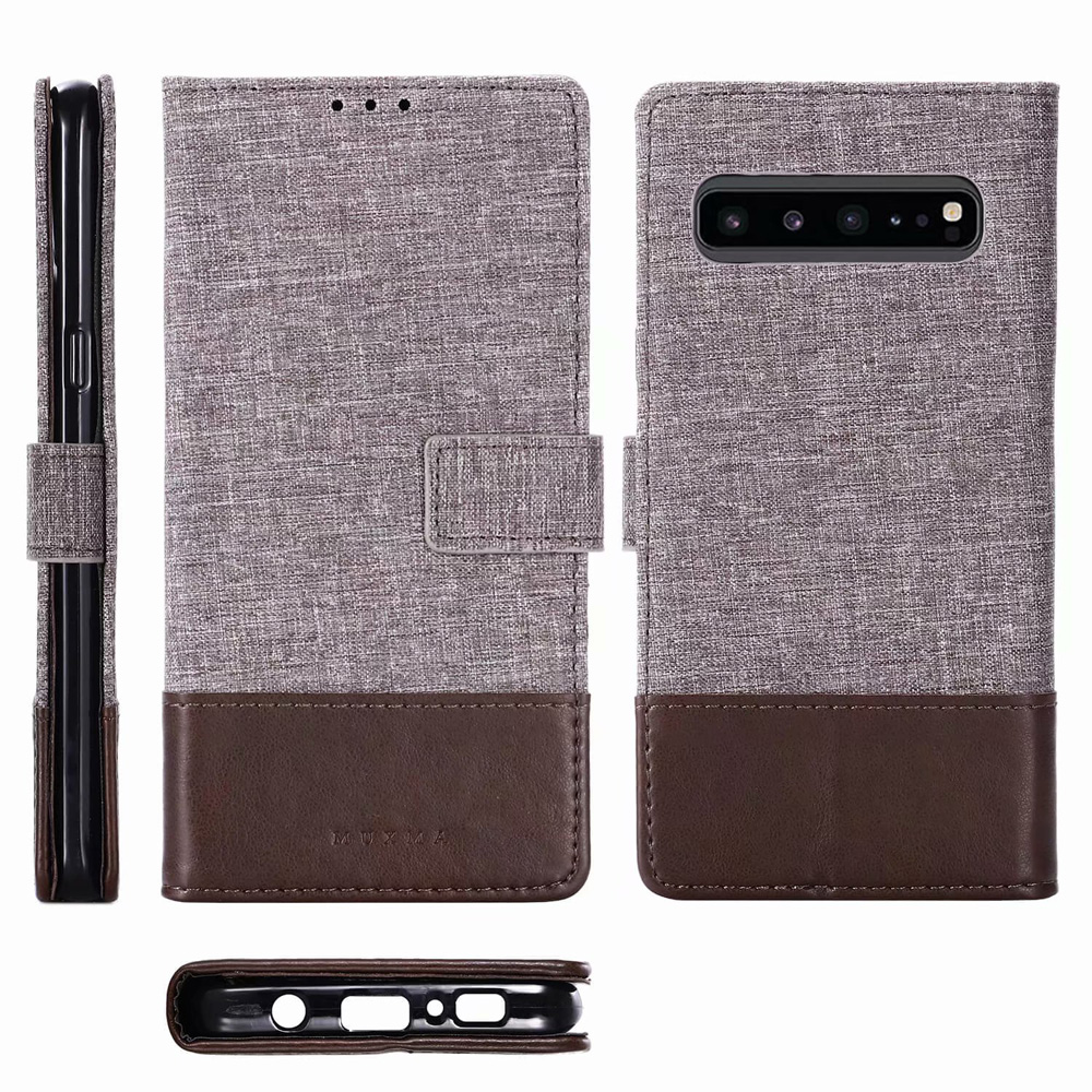 S10 5G Flip Leather Case For Samsung Galaxy S10 5G Case Ultra-thin Wallet Stand Phone Cover For Samsung Galaxy S10 5G Cover