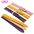 High light Leather Watchband fit men and women watch accessories 12141618 20mm