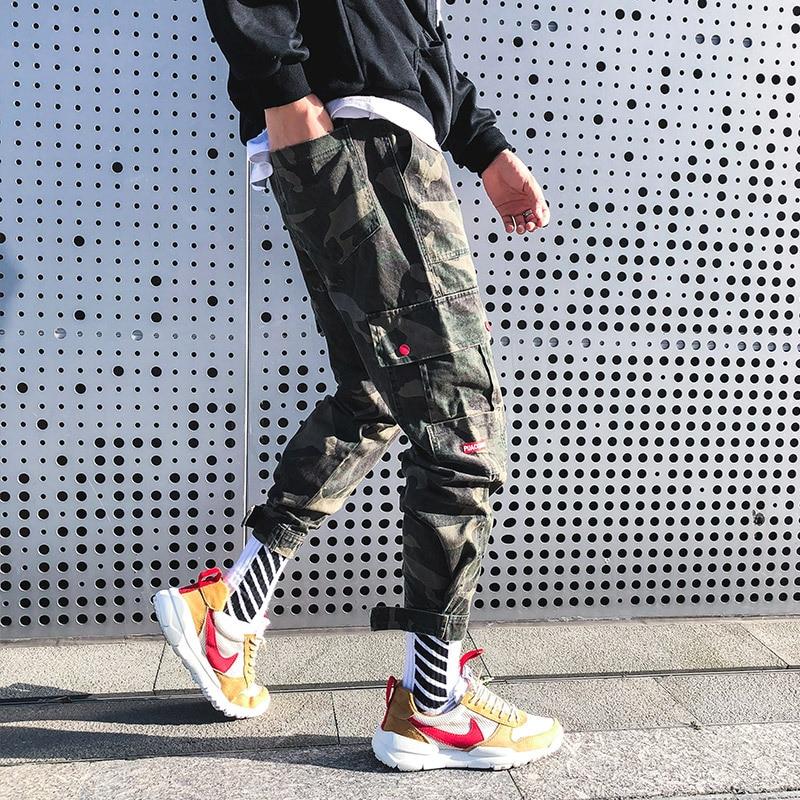 Pantalones Para Correr Informales De Lana Militar Camuflaje Hip Hop Pantalones Informales De Invierno De Felpa Para Hombre Pantalones Tipo Cargo Aliexpress