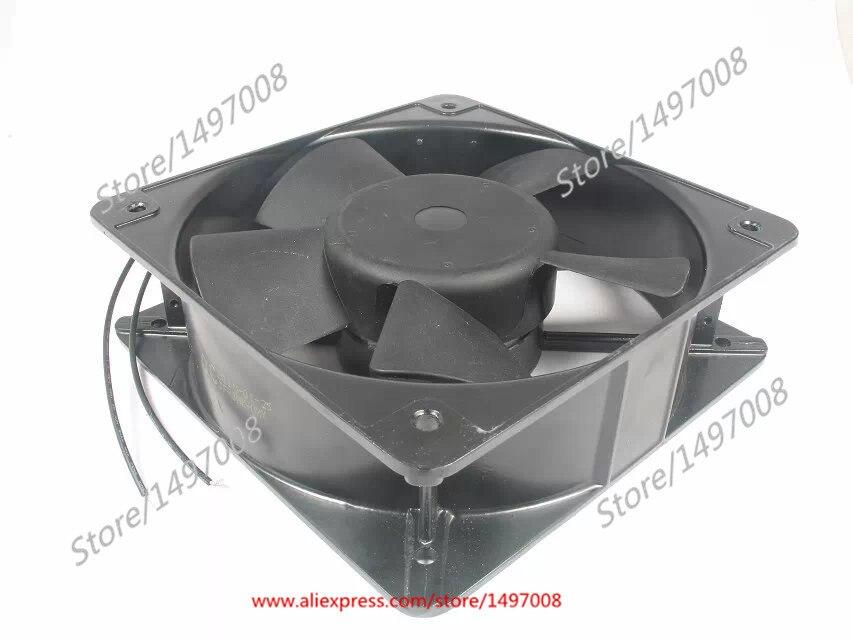 Free Shipping Emacro MING QUAN  MQ20060HBL  AC 220/240V 0.38A 2-wire 200mm 200x200x60mm Server Square fan