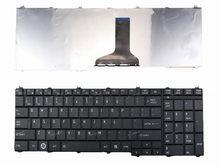 New eua inglês teclado para toshiba satellite c650 c650d c655 c655d c660 c660d c670 c670d c675 c675d laptop eua preto