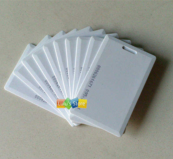 100pcs lot em4100 125khz rfid clamshell cards em thick id for Yamaha motorcycle serial number wizard