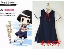 Free shipping New Arrival font b Anime b font Gugure Kokkuri san Ichimatsu Kohina School Uniform