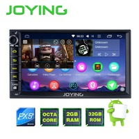 Dual Core Android 4 4 Universal 2 Din Android Radio GPS No Car DVD Player For