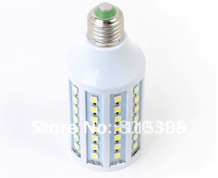 Ultra Bright 44/60/86Leds SMD5050 E27 9W/11W/15W Led Corn Bulb Lamp Energy Saving 200V-240V Freeshipping#D004