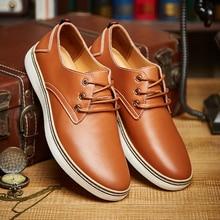 CIMIM Brand Spring Autumn Men Shoes Geniune Leather Fashion Comfortable Business Office Men Flats Footwear Big Size 47 Shoes Men