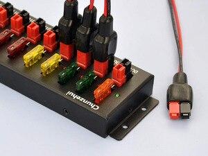 Image 5 - Chunzehui F 1005 9 Porta 40A Conector de Alimentação Splitter Distribuidor Fonte Tira, Entrada e Saída 8 1.