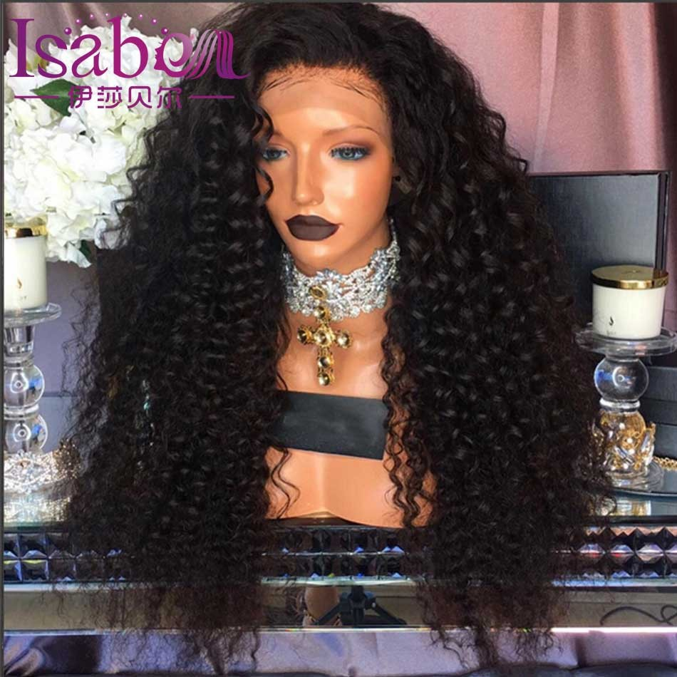 Isabel 9A Loose Deep Wave Human Hair Wigs Glueless Full Lace Human Hair Wigs For Black Women Curly Lace Front Human Hair Wigs (3)