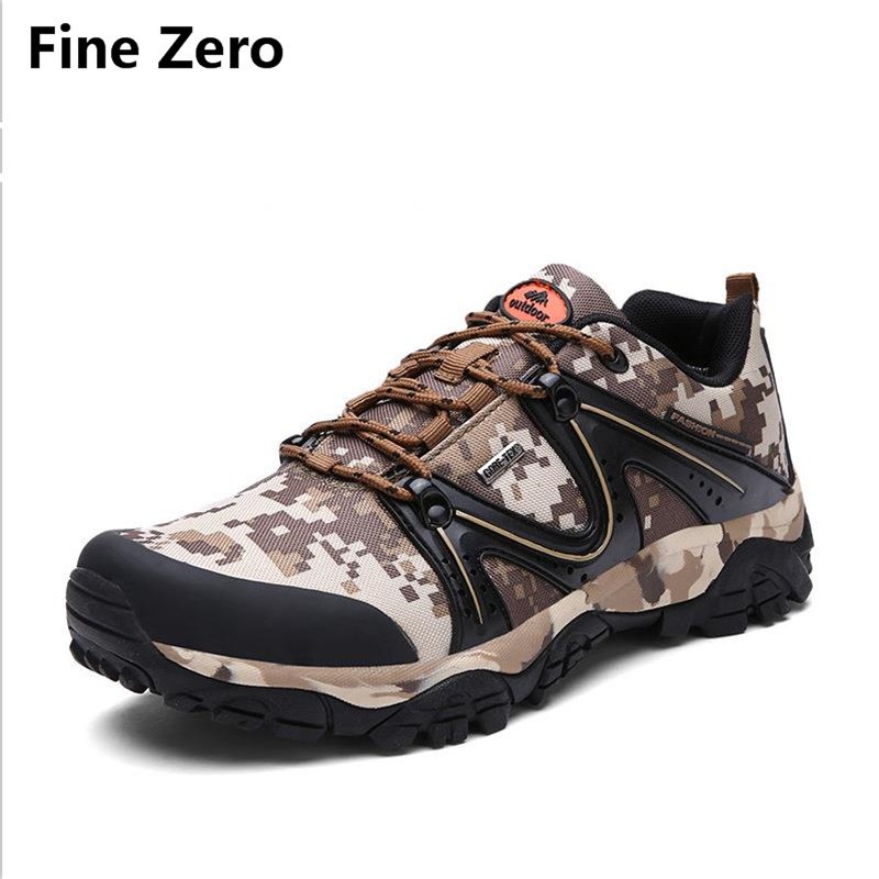 Fine Zero Canvas Men camouflage Army Boots Lace Up Male Ankle Botas Cowboy Motorcycle Boots Fashion Military Desert men shoes fashion army green camouflage canvas shoes woman rivets thin high heels boots botas sweet lace up ankle boots women femininas