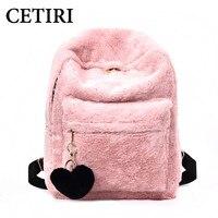 CETIRI Mochila Feminina Backpacks For Teenage Girls Kawaii Backpack Cute Sac A Dos Femme Rugzak Heart