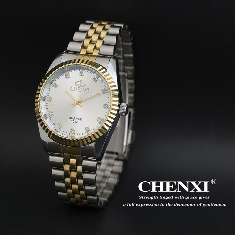 Couples Quartz Watch, Men's & Women's Watches, 30m Waterproof Wristwatches 19