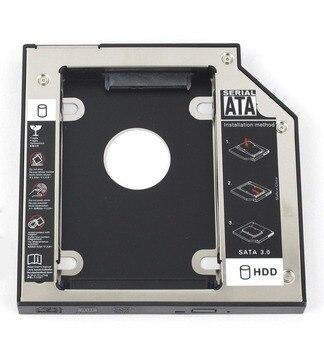 WZSM 12,7mm SATA 2nd HDD Disco Duro SSD Caddy para Acer Aspire 7730 7730G 7730Z 7730ZG 7741 7741G 7741Z 7741ZG
