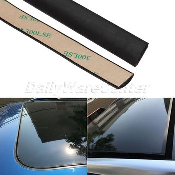5 Meter Waterproof Rubber Sealing Strips Trim For Auto Car Front Rear Windshield Sunroof Triangular Window Edge Weatherstrip lettuce edge trim button front ribbed dress