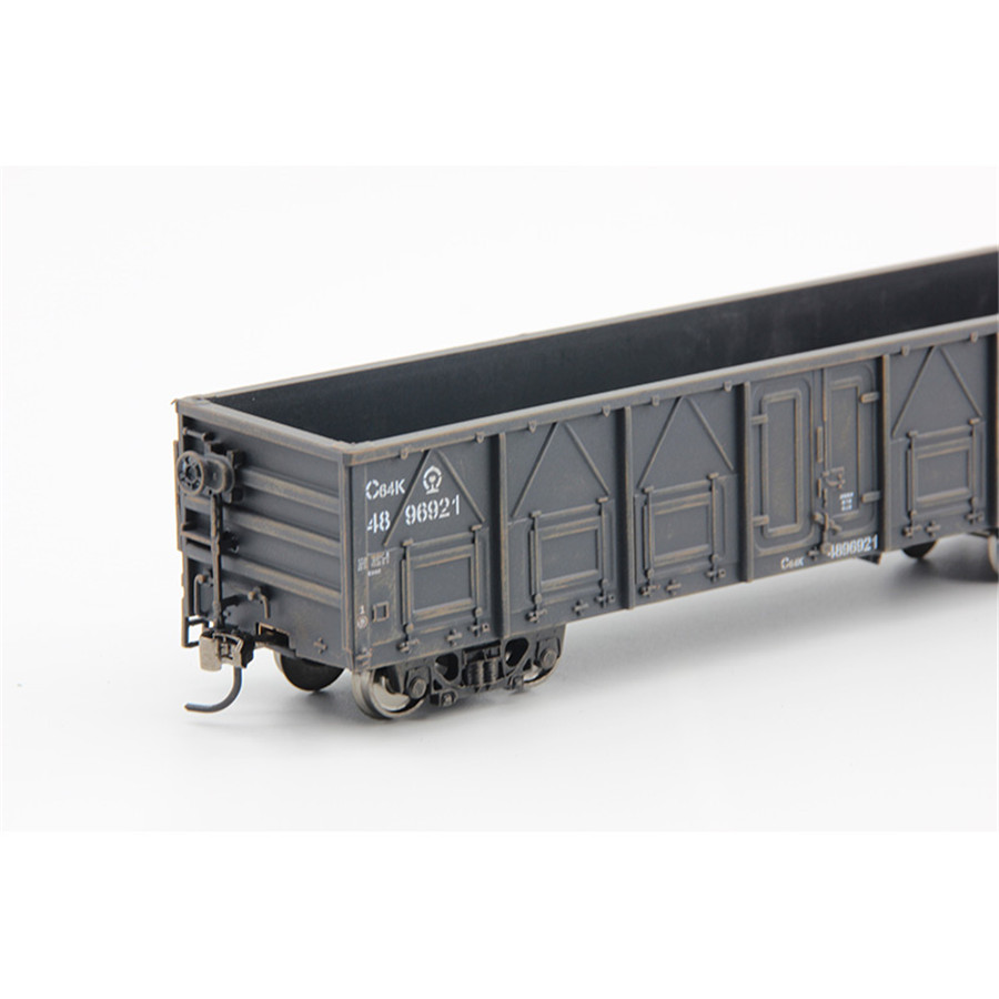 Modello 1:87 HO Container Carriage China Train Model scale C64K Gondola 20ft-in Model Building Kits from Toys & Hobbies    3