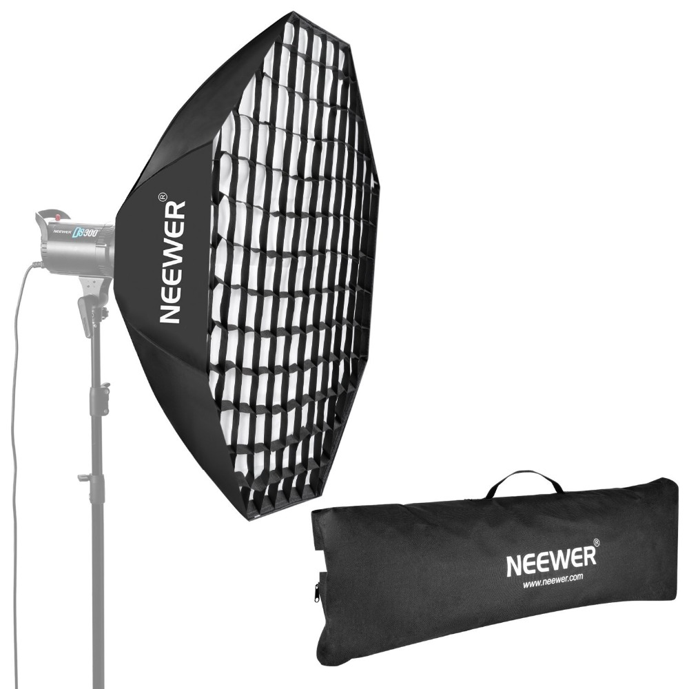 Neewer 55/140cm Beehive Octagon Umbrella Speedlite Softbox for Nikon/Canon/Sony/Pentax/Olympus/Panasonic/Lumix Flash Light