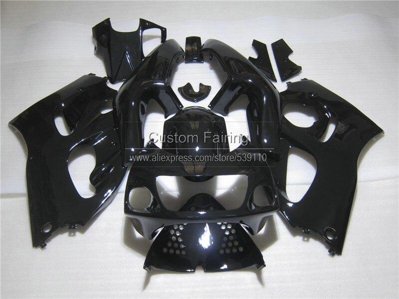 Motorcycle Fairing kit for SUZUKI GSXR 600 750 1996 1997 1998 1999 2000 all glossy black GSXR600/750 96-99 00 fairings set ZE2 пена монтажная mastertex all season 750 pro всесезонная