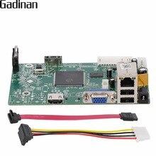 GADINAN אבטחת NVR 8CH 1080 P NVR טלוויזיה במעגל סגור לוח ראשי HI3520D מודול 8CH 1080 P/12CH 960 P P2P ONVIF XMEYE CMS ענן NBD7808R PL