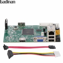 GADINAN Placa Principal HI3520D 8CH 1080 P NVR CCTV NVR Segurança módulo 8CH 1080 P/12CH 960 P P2P Nuvem ONVIF CMS XMEYE NBD7808R PL