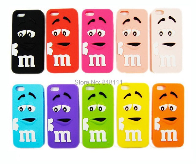 promo code 3a5a7 620ac US $1.99  Fashionable M&M's Mobile Phone Shell Lovely Cartoon Cell Phone  Cover Silicon phone Cases for IPhone 4 4G 4S iPhone4 on Aliexpress.com   ...