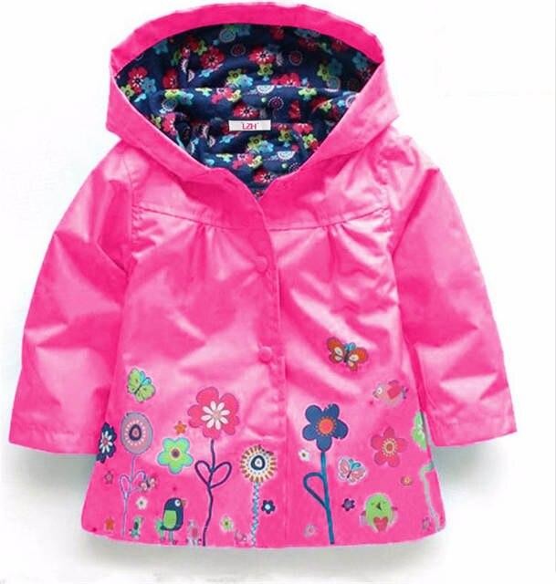 a62e145ef534 placeholder LZH Girls Jacket 2018 Autumn Winter Jacket For Girls Raincoat  Coat Kids Outerwear Trench Coat Boys