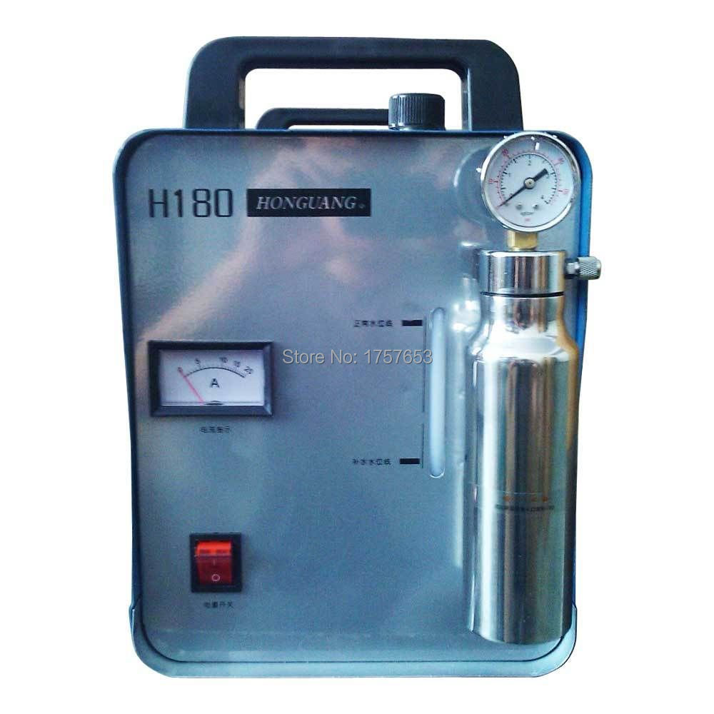Tools Careful Free Ship Portable Oxygen Hydrogen Water Welder Flame Polisher Polishing Machine H180 95l Double Gun