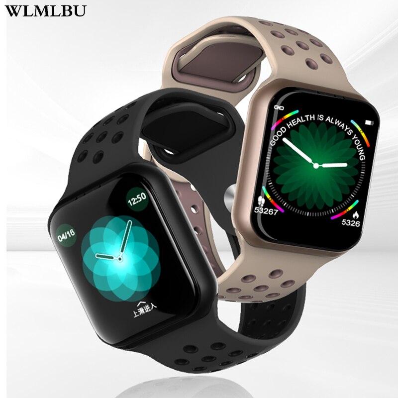 WLMLBU F8 relógios relógio inteligente IP67 15 dias longa espera À Prova D' Água freqüência cardíaca pressão Arterial Smartwatch Suporte IOS Android