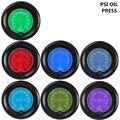 """EE suporte 2 """"7 Cores Vermelho Azul Carro Oil Press Calibre 52mm Auto Medidor de Pressão Digital de LED Relógio Tint Len Venda XY01"""